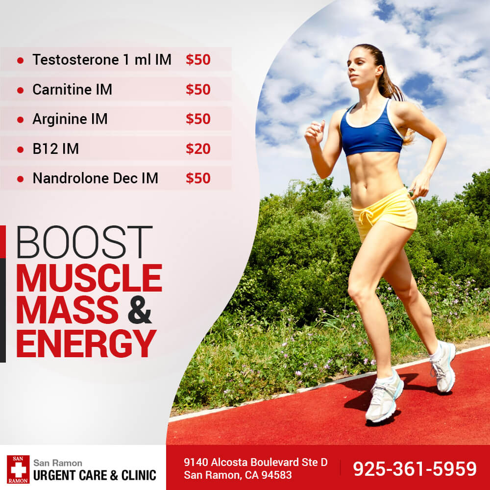 Boost Muscle Mass & Energy